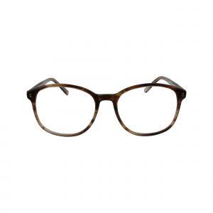 Fregossi Brown 456 - Eyeglasses - Front