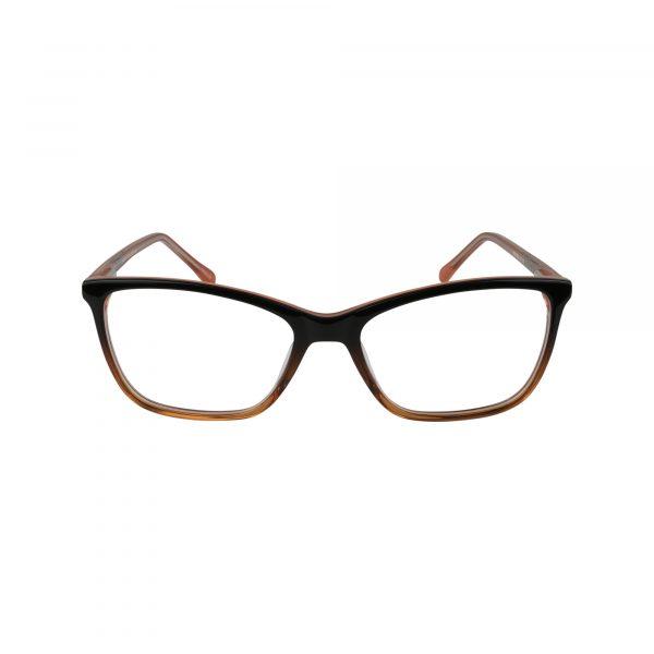 Fregossi Brown 491 - Eyeglasses - Front