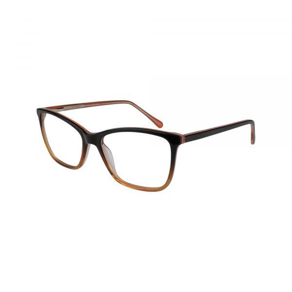 Fregossi Brown 491 - Eyeglasses - Left