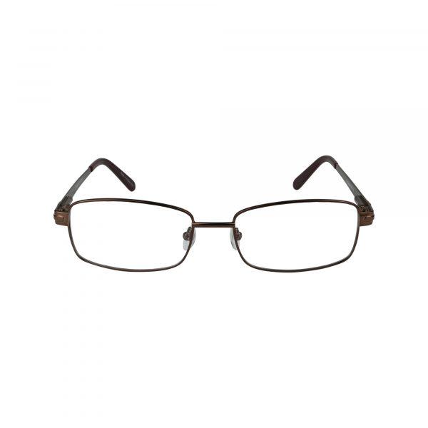 Exclusive Brown 161 - Eyeglasses - Front