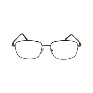 Exclusive Brown 210 - Eyeglasses - Front