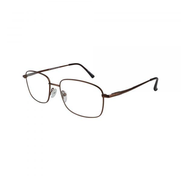 Exclusive Brown 210 - Eyeglasses - Left