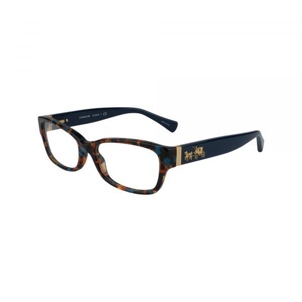Coach Coach 6078 Blue Eyeglasses - Eyeglasses - Left