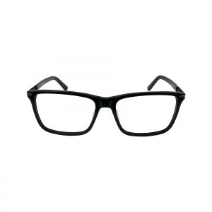 Claiborne Black 318 - Eyeglasses - Front