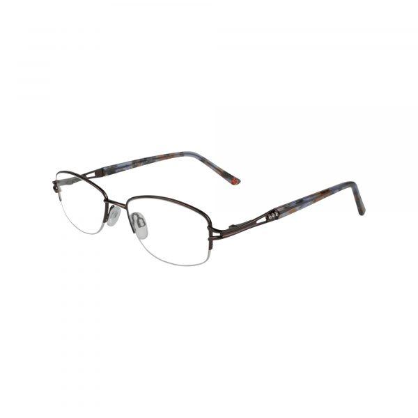 Fleur De Lis Brown L122 - Eyeglasses - Left