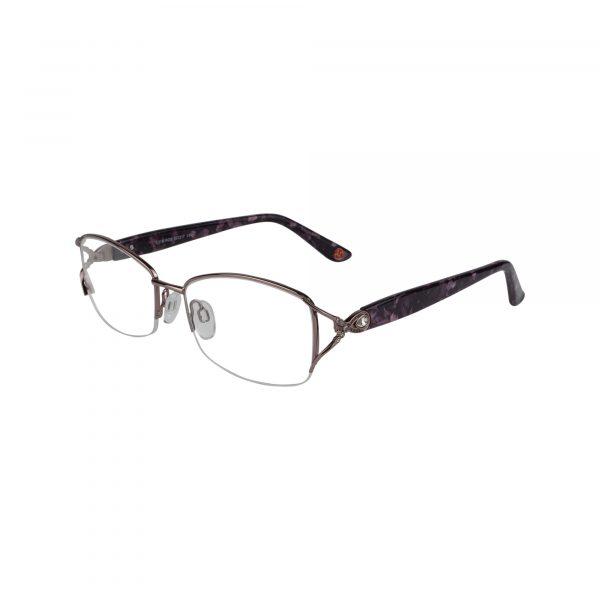 Fleur De Lis Pink L118 - Eyeglasses - Left