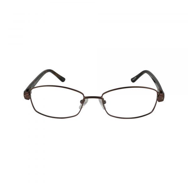 Fleur De Lis Brown L132 - Eyeglasses - Front