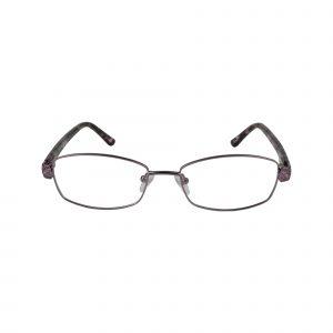 Fleur De Lis Purple L132 - Eyeglasses - Front