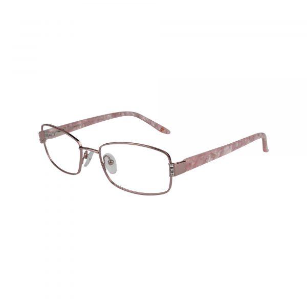 Fleur De Lis Pink L120 - Eyeglasses - Left