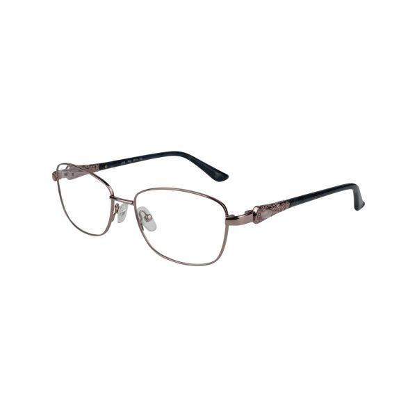 Fleur De Lis Pink L124 - Eyeglasses - Left