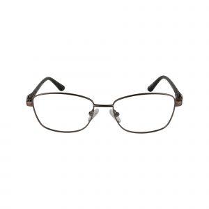 Fleur De Lis Brown L124 - Eyeglasses - Front