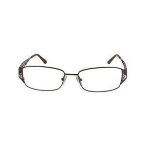 Fleur De Lis Brown L110 - Eyeglasses - Front