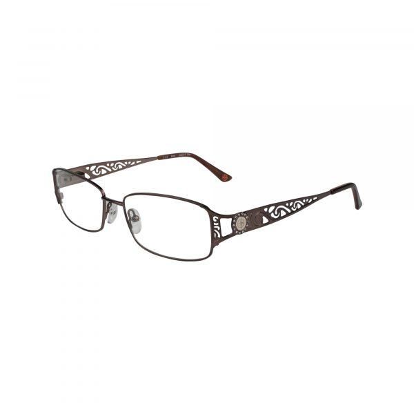 Fleur De Lis Brown L110 - Eyeglasses - Left