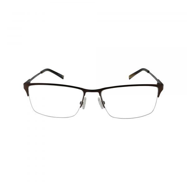 Bulova Brown Twist Punta Cana - Eyeglasses - Front