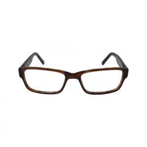Bulova Brown WESTERN - Eyeglasses - Front