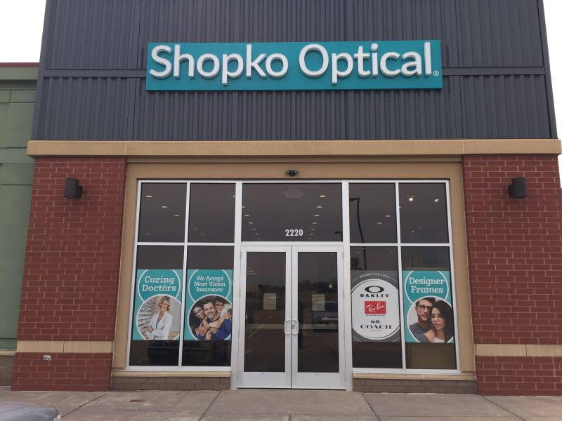 storefront 236 -Hudson Shopko Optical