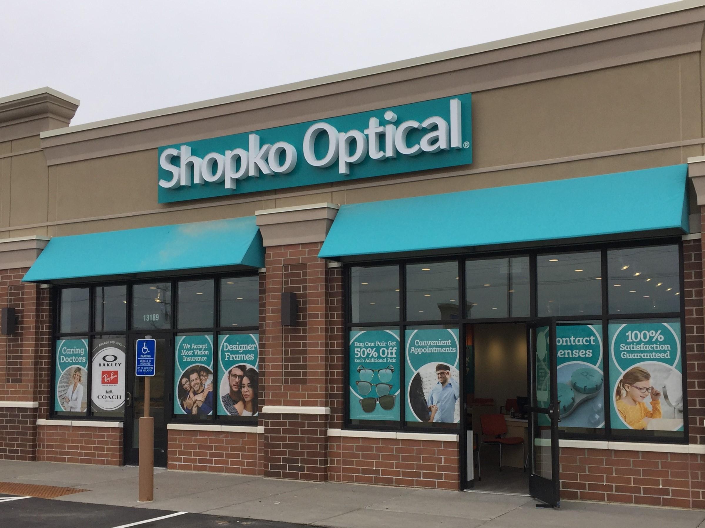 storefront 239 -Oak Park Heights Shopko Optical
