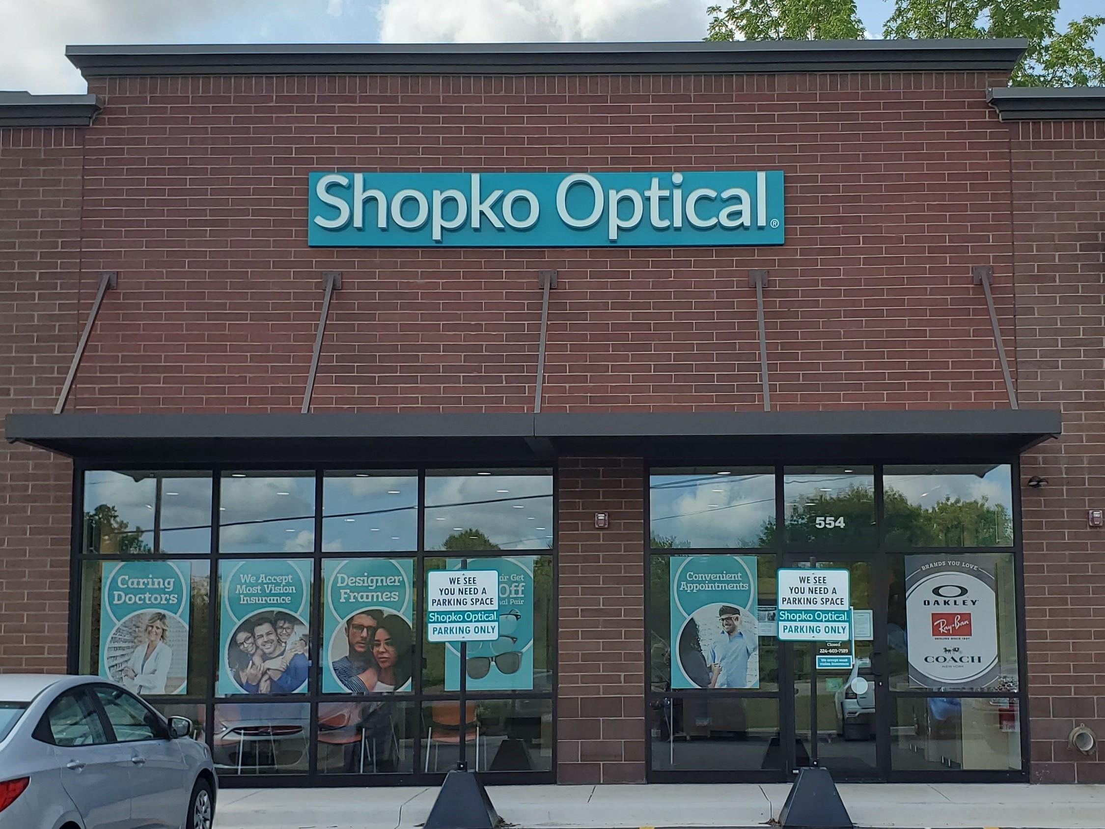 storefront 241 - Antioch Shopko Optical