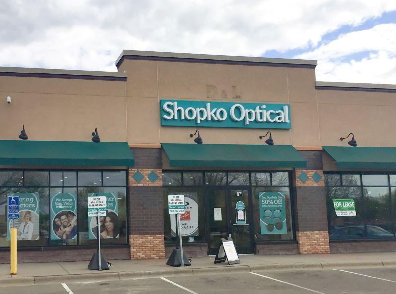 storefront 242 -Vadnais Heights Shopko Optical