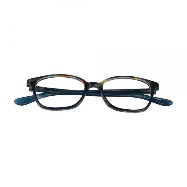 Joules Blue Tortoise JO3049 - Eyeglasses - Folded
