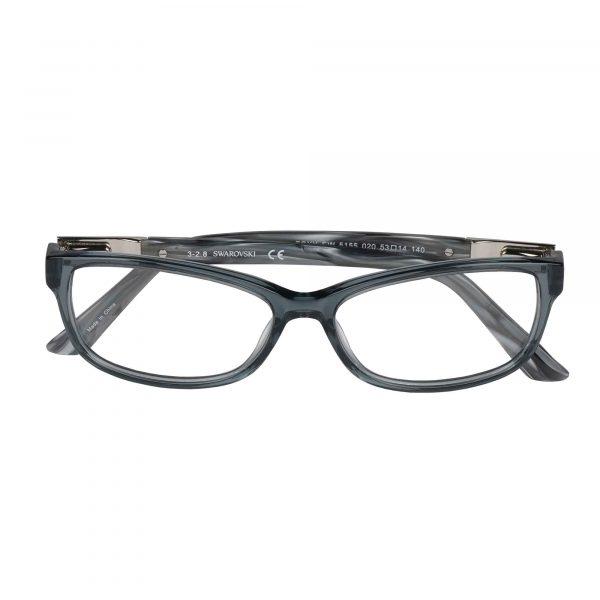 Swarovski Grey 5155 - Eyeglasses - Folded