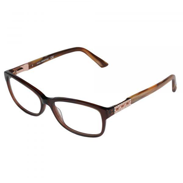 Swarovski Light Brown 5155 - Eyeglasses - Left