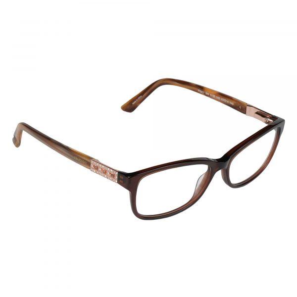 Swarovski Light Brown 5155 - Eyeglasses - Right