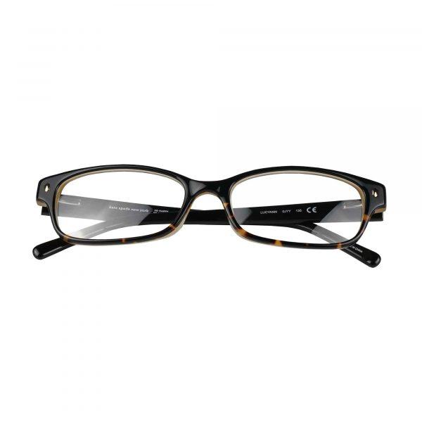 Kate Spade Black Tortoise Lucy Ann - Eyeglasses - Folded