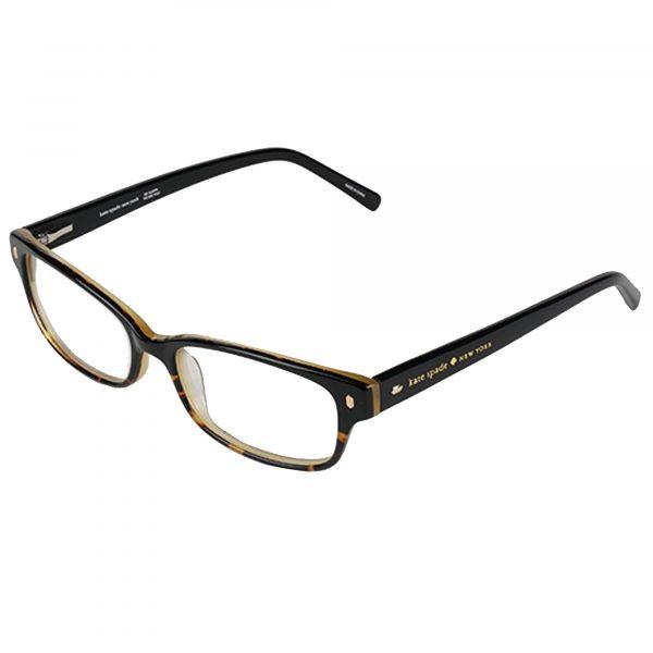 Kate Spade Black Tortoise Lucy Ann - Eyeglasses - Left