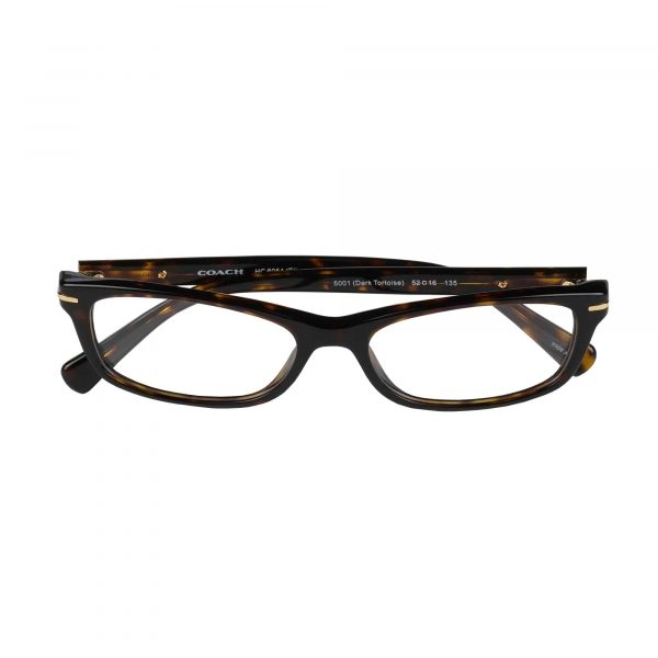 Coach Dark Tortoise 6054 - Eyeglasses - Folded