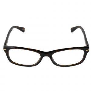 Coach Dark Tortoise 6054 - Eyeglasses - Front