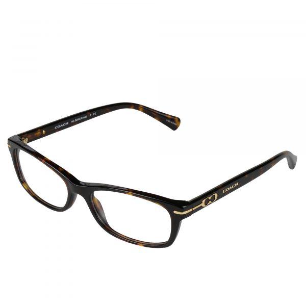 Coach Dark Tortoise 6054 - Eyeglasses - Left