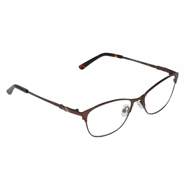 Bulova Brown Twist Tigris - Eyeglasses - Right