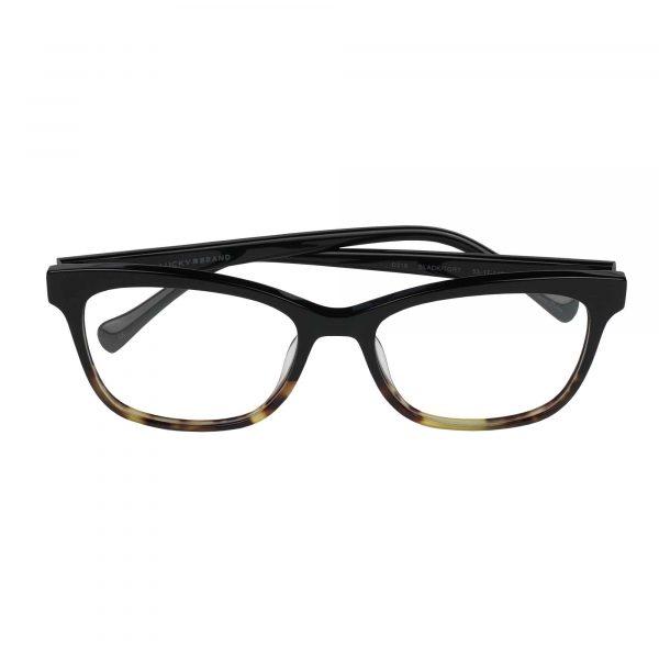 Lucky Black D218 - Eyeglasses - Folded