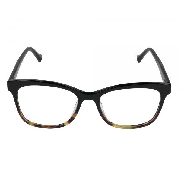 Lucky Black D218 - Eyeglasses - Front