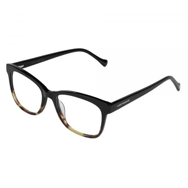 Lucky Black D218 - Eyeglasses - Left