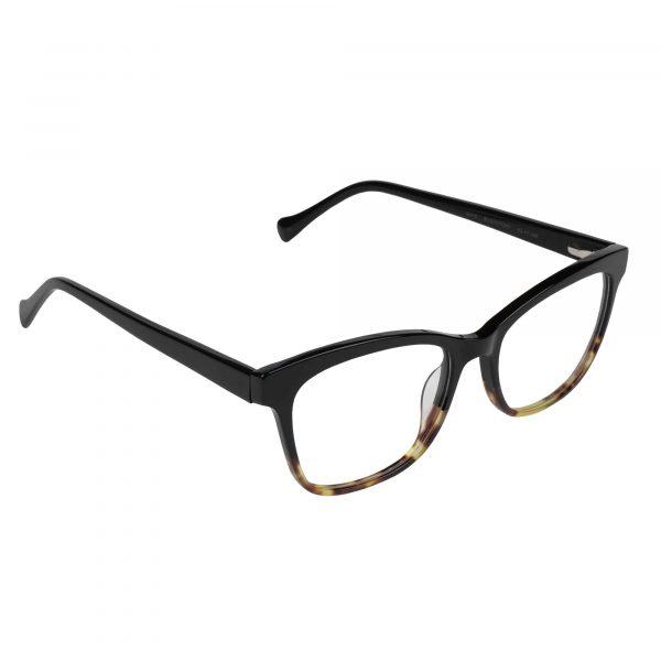 Lucky Black D218 - Eyeglasses - Right