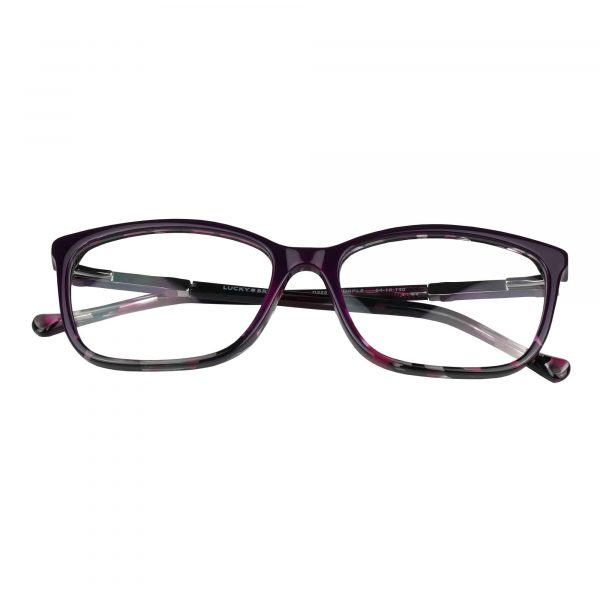 Lucky Purple D225 - Eyeglasses - Folded