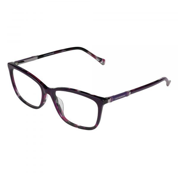 Lucky Purple D225 - Eyeglasses - Left