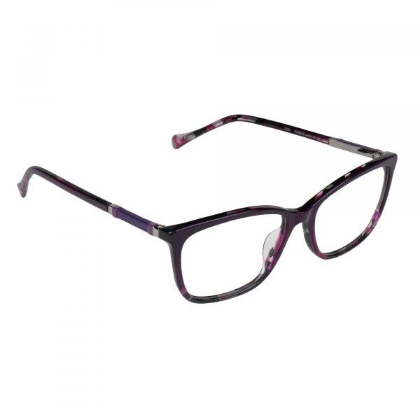 Lucky Purple D225 - Eyeglasses - Right