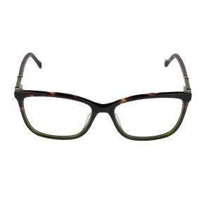 Lucky Green/Tortoise D225 - Eyeglasses - Front