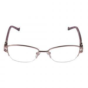 Fleur de Lis Pink L135 - Eyeglasses - Front