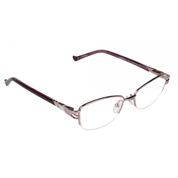 Fleur de Lis Pink L135 - Eyeglasses - Right
