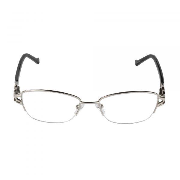 Fleur de Lis Silver L135 - Eyeglasses - Front