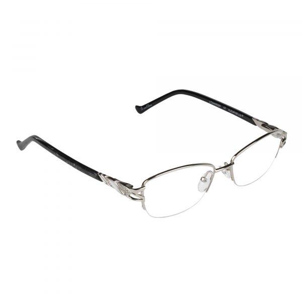 Fleur de Lis Silver L135 - Eyeglasses - Right
