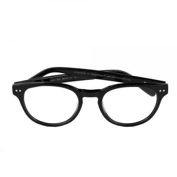 Global Releaf Black GR23 - Eyeglasses - Folded