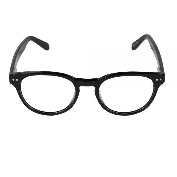 Global Releaf Black GR23 - Eyeglasses - Front