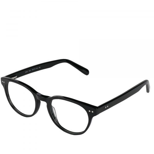 Global Releaf Black GR23 - Eyeglasses - Left