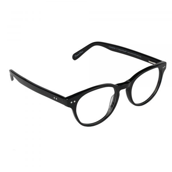 Global Releaf Black GR23 - Eyeglasses - Right