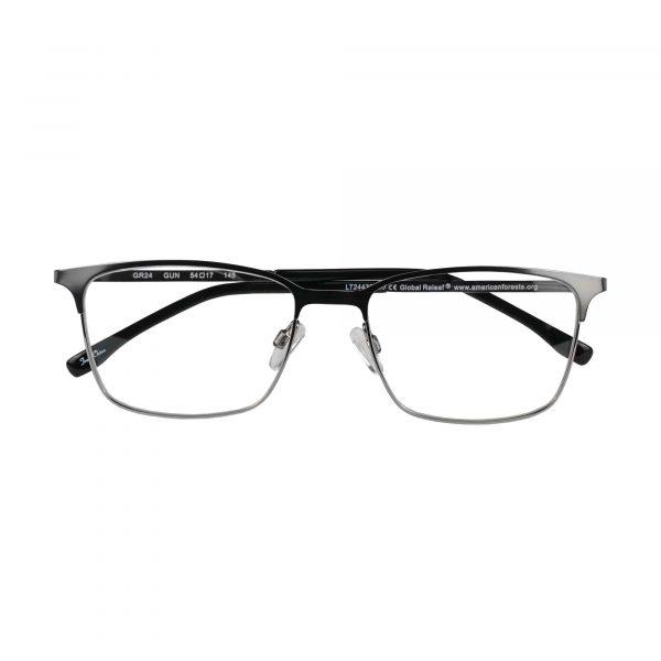 Global Releaf Gunmetal GR24 - Eyeglasses - Folded